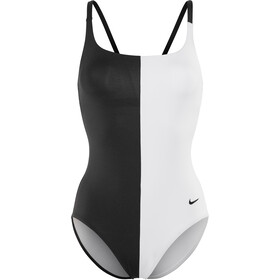 Nike Swim Color Surge One Piece Badpak V-Rug Dames, black